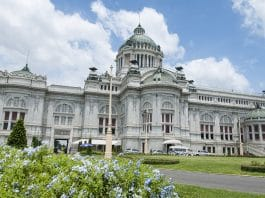 Ananta Samakhom Throne Hall. Foto di Martinp1.