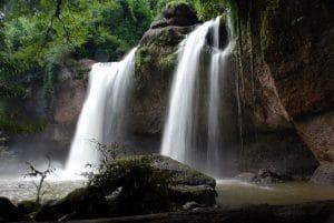 Cascate Haeo Suwat nel Khao Yai National Park, Thailandia.