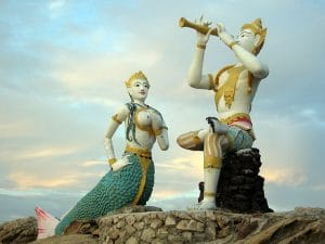 Aphai Mani e la sirena, Hat Sai Kaeo Beach