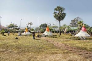 Le tre pagode - Sangkhla Buri District