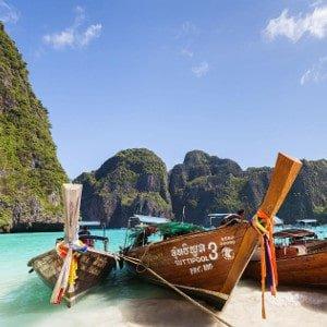 La prima volta in Thailandia