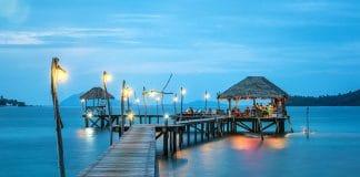 Thailand beach resort