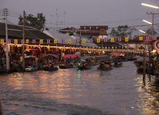 Amphawa market di notte. Di Marida1996