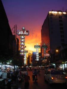 Chinatown a Bangkok. Foto di Jacob Siverskog.