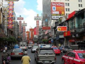 Chiantown a Bangkok. Foto di Milei.vencel