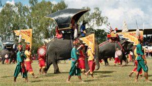 Festival degli elefanti, Surin. Foto di Luc Ockers.