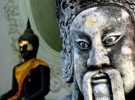 Phra Pathom Chedi. Foto di yeowatzup da Katlenburg-Lindau, Germania.