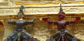 Wat Phra Kaew - Bangkok. Foto di Jakub Hałun.