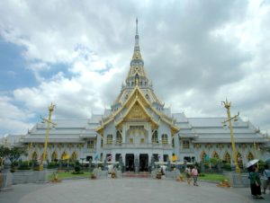 Luang Po Sothon Chapel a Chachoengsao. Foto di Sven.petersen