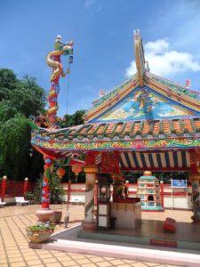 Tempio cinese, Nong Khai. Foto di satori.corvus.