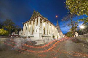 Wat Chaloem Phra_Kiat, Nonthaburi. Foto di Preecha.MJ.