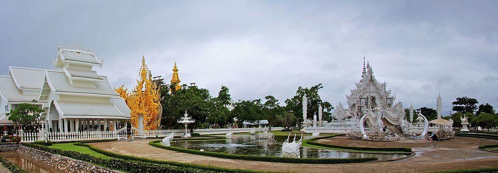 Wat Rong Khun, White Temple, Chiang Rai. Foto di cesar.ruiz.