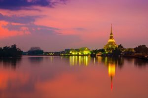 Wat Sothon Wararam Woraviharn a Chachoengsao. Foto di Preecha.MJ