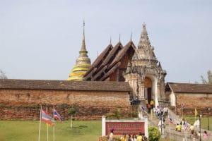 Wat Prathat Lampang Luang, Lampang. Foto di Kesaputta.