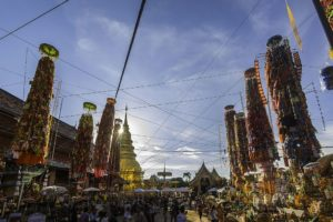 Wat Phra That Hariphunchai Woramaha Wihan 2, Mueang Lamphun. Foto di Korkiat Jumpa.