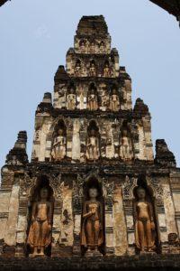 Wat Kukut, Lamphun. Foto di Ddalbiez.