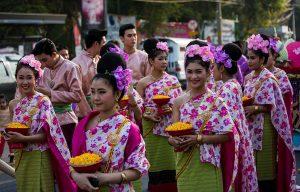 Festival dei fiori a Chiang Mai.