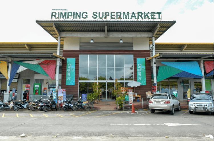 Supermercato in Thailandia usa foglie di banano invece che plastica