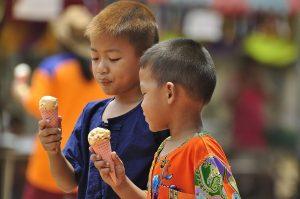 Bambini Thailandesi.