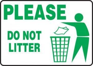 Non inquinare.
