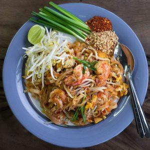 Pad Thai Khung (gamberi).