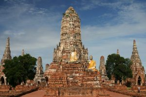 Tempio ad Ayutthaya.