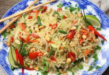Come preparare la papaya salad