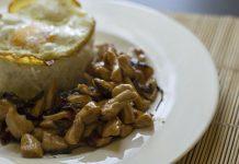 Pollo con Basilico Thailandese