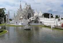 White Temple a Chiang Rai.
