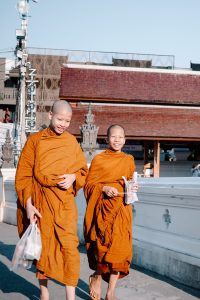 Giovani monaci Buddhisti.