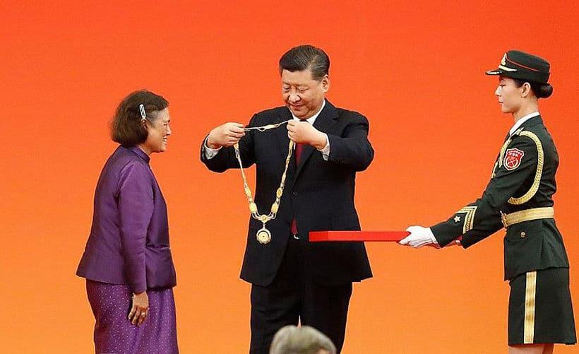 La Cina conferisce alla principessa thailandese la medaglia dell'amicizia