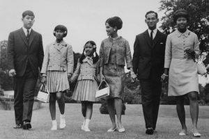 Rama IX e famiglia
