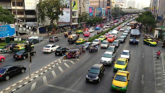 guidare a bangkok