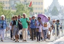 turisti europei in calo
