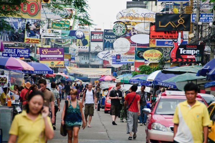 Da dicembre alcune strade chiuse al traffico a Bangkok