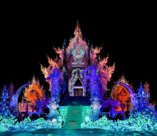Il Tempio Bianco ospiterà il Wat Rong Khun Light Fest