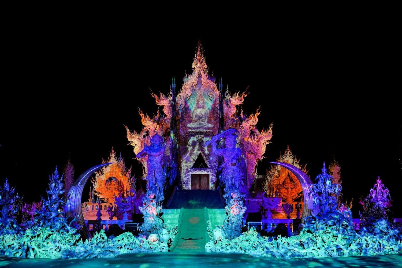 "Il Tempio Bianco ospiterà il ""Wat Rong Khun Light Fest"""