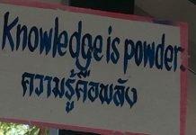 Inglese per i Thailandesi in calo per il terzo anno
