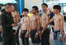 La Thailandia difficilmente abolirà la leva militare