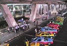 bangkok taxi contro app sharing