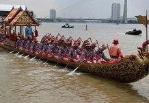 Corse gratuite a Bangkok per la Royal Barge Procession