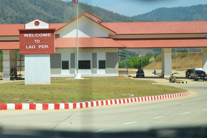 Il Laos aprirà il checkpoint a Pang Mon il 1° febbraio