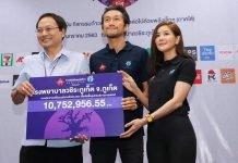 ToonBodyslam dona 10 milioni di Baht al Vachira Hospital