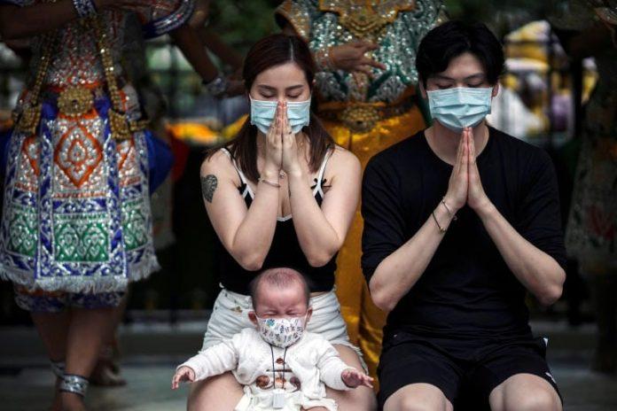 Trasmissione di coronavirus confermata in Thailandia