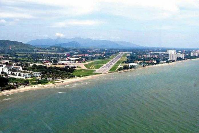 Hua Hin amplia l'aeroporto, punta al turismo internazionale