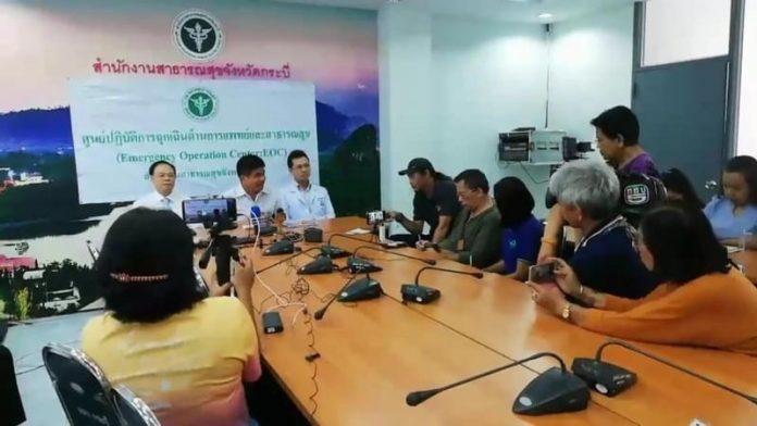 Più di 100 pazienti sotto controllo a Krabi